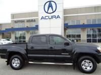 2010 Toyota Tacoma PreRunner in Black, *NO ACCIDENTS