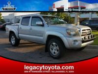 Clean CARFAX. Tacoma PreRunner TRD Sport, 4D Double