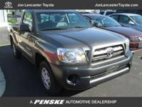 This 2010 Toyota Tacoma 2dr 2WD Reg I4 AT Truck