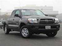 This 2010 Toyota Tacoma Access Cab Truck features a