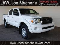 This 1 OWNER Tacoma comes with a BACKUP CAMERA and a