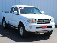 Options:  2010 Toyota Tacoma Base|White|Full Exterior &