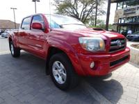 EPA 20 MPG Hwy/16 MPG City! Tacoma trim, BARCELONA RED