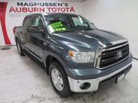 WOW! This LOW GAS MILEAGE grey 2010 Toyota Tundra