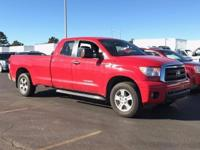 New Price! Extended Warranty Available**.  Red Toyota