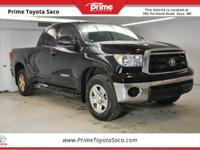 Clean CARFAX! 2010 Toyota Tundra Grade in Black! With