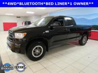 New Price! ONE OWNER, BED LINER, BLUETOOTH, Tundra