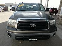 Clean CARFAX. Brown 2010 Toyota Tundra 4D Double Cab