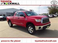 Radiant Red 2010 Toyota Tundra Grade 4x4 Double Cab 4WD