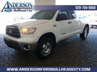 White 2010 Toyota Tundra Grade 4WD 6-Speed Automatic