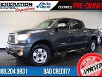 Tundra Limited, 4D CrewMax, 4WD, and 2010 Toyota