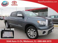 Recent Arrival! 2010 Toyota Tundra Limited CrewMax Gray