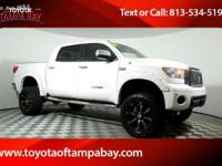 Options:  2010 Toyota Tundra Limited White Look At This