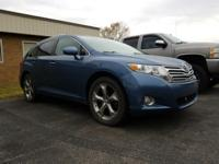 Clean CARFAX. Blue 2010 Toyota Venza AWD 6-Speed