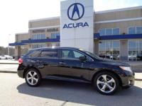 2010 Toyota Venza V6 LEATHER in Black, *CARFAX