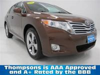 ONE OWNER!.........2010 Toyota Venza 4-Door