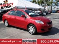 Check out this capable 2010 Toyota Yaris . Vehicle