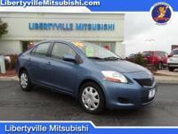 Options:  2010 Toyota Yaris Base|Blue|Carfax One-Owner.