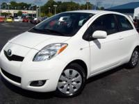 2010 Toyota Yaris 5-Speed. ONE OWNER. Gassss saverrrr!