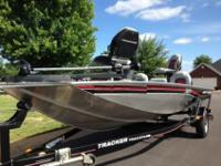 2010 Bass Tracker equipped with Mercury 50HP outboard