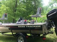 2010 Bass Tracker Pro 16. This Boat is like new with