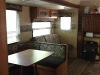 2010 keystone hideout model 38bhds, custom awning and