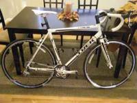 I am selling my 2010 Trek 1.5 58cm road bike. The 2010