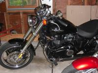 Excellent condition 2010 Triumph Speedmaster. Wife
