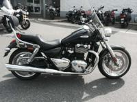 Triumph has also endowed the Thunderbird with a range
