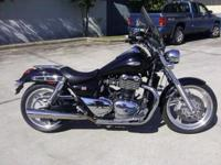 I currently have a 2010 Triumph Thunderbird for sale.