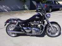 I currently have a 2010 Triumph Thunderbird for
