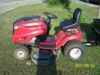 "2010 Troy-Bilt Hydrostatic lawn mower -46"" cutting"