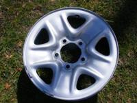 Set of 2010 Toyota Tundra 18 inch wheels. About 3000