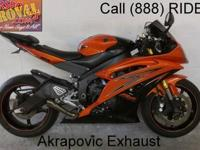 2010 Used Yamaha R6 Crotch Rocket For Sale-U1800 with