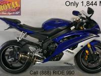2010 Used Yamaha R6 Crotch Rocket For Sale-U1853 only