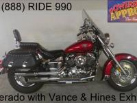 2010 used Yamaha V Star 650 Silverado motorcycle for