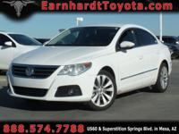 We are excited to offer you this 2010 Volkswagen CC