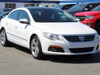 CARFAX One-Owner. Candy White 2010 Volkswagen CC VR6