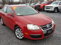 New Price! Tornado Red 2010 Volkswagen Jetta SEL FWD