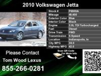 Call Tom Wood Lexus at  Stock #: P6900A Year: 2010
