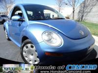 EPA 29 MPG Hwy/20 MPG City! New Beetle trim. iPod/MP3