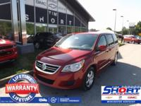 Red 2010 Volkswagen Routan SE FWD 6-Speed Automatic