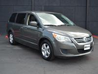 This 2010 Volkswagen Routan SE features a 3.8L V6 OHV