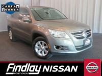Super Low Miles!! Very Hard To Find Pre-Owned Tiguan!!