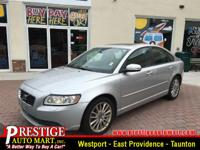 This 2010 Volvo S40 2.4i has less than 78k miles!