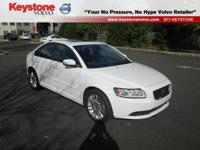 New Arrival! This S40 is Certified! CarFax One Owner!