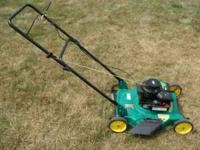 FOR SALE 2010 WEEDEATER PUSHMOWER $85.00 CALL  LEAVE