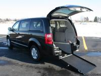 This is a 2010 Wheelchair Accessible Dodge Grand