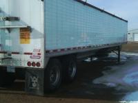 We have two 2010 Wilson Pacesetter hopper trailers for