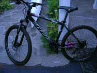 this bike is comparable to a Trek 4500 or 4900. It cost